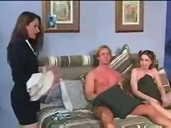 Wife Catches Husband Fucking the Babysitter