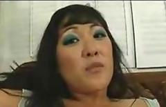 Black Dick Not Too Big For This Little Asian Slut -