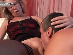 Nasty old whore gets horny segment