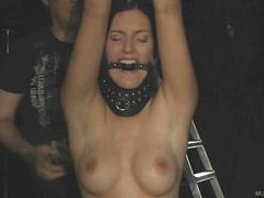 Big boobed slave girl tormented and hardly punished