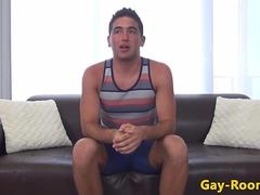 Castings jock drilled in tight ass