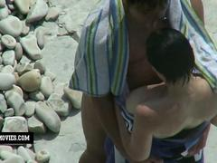 hidden cam at the beach gets an exclusive footage