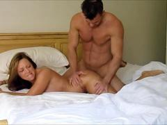 Cheating wife filming herself having sex