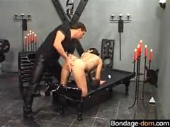 bdsm session is so damn hot in the dungeon