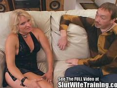 Big titty blonde milf Jackie gets group sex training from Dirty D