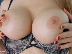 Primecups Stella Cox has big boobs and finally gets her asshole ripped apart by a big cock