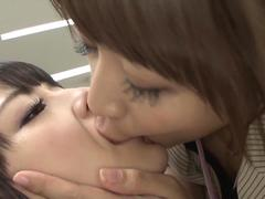 by connection-time stop lesbian ver luca kanae maika video