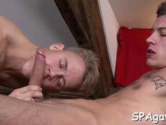 exciting gay fellatio blowjob hard 3