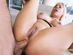Big booty cutie is ready for some hard anal fucking