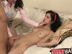 RayVeness and Zoe Kush nasty 3way sex with hard cock