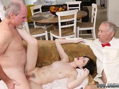 Mature tranny old girl She even gets donk humped until the dudes give her face some cum