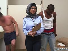 French arab anal and throat Black vs White My Ultimate Dick Challenge