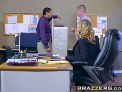 Brazzers - Big Tits at Work - Kagney Linn Karter and Michael Vegas - Hot Bothered and Horny
