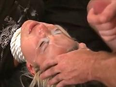 Compilation of hot milfs jerking off huge cocks from their lovers and getting treated with warm cum