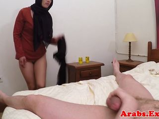 Riding cock for cash