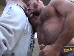 Bear gets ass pounded