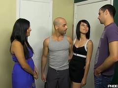 Cute stud bangs a handsome married guy with his huge cock