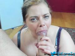 look at this cute little bbw face fucked.... film