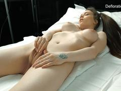 Koza Dereza hot vaginal masturbation
