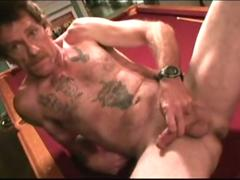 mature amateur troy jacks off film