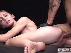Teen pussy ripped and cute chinese Lean leggy young dumb and actually total of cum it