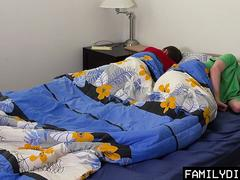 FamilyDick - Steamy Threesome with Daddy