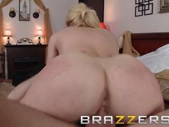 Big TITS in uniform - Kagney Linn Karter James Deen - Kagney Hustles for That Tip - Brazzers