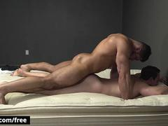 Damien Stone with Tobias at Bow Down Scene 1 - Trailer preview - Bromo