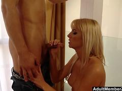 Blonde Bianca Cant Wait Any Longer To Fuck