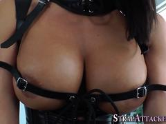 Jizzed domina squirts