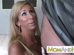 MILF MOM Morgan Ray loves a hot young stud