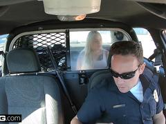 Screw The Cops - naughty thick white girls gets fucked by cop