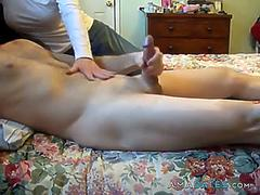 wife jerking me off cfnm feature