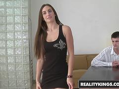 Reality Kings - First Time Auditions - Kaylee Daniels Rybot - Pleasing Pussy