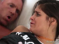 Dad friends daughter curious first time Stepallys daughter Sick Days