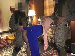 Soldiers Pickup Arab to Fuck