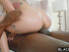 BLACKED Kali Rose Gets Passed Around By Six BBCs