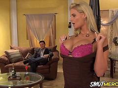 MILF Phoenix Marie Lures in a Young Horny Man with Her Juicy Tits