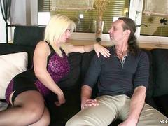 GERMAN MILF Nadja Summer at AO USER-DATE with BIG DICK GUY