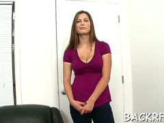 Pole tasting from lovable sweetheart