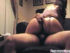 Thick wife talking dirty and hard
