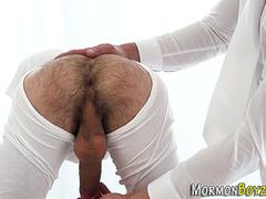 Gay mormon hunk cumming