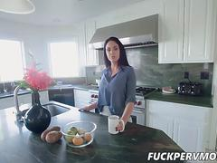 Brooke Beretta Flashes Tits To her STEPSON