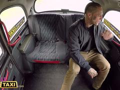 Female Fake Taxi Tattooed guy makes sexy blonde horny