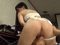 Yui Kasugano sites and endures cock in rough modes - More at javhd.net