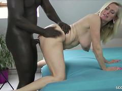 GERMAN MILF DIRTY TINA FUCK WITH HUGE COCK BLACK USER