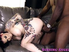 Gothic slut ass fucked