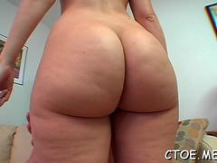 Ambitious hollie stevens gets nailed by fucker