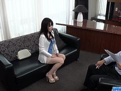 Casting for porn makes Yui Satonaka to act really nasty - More at javhd.net