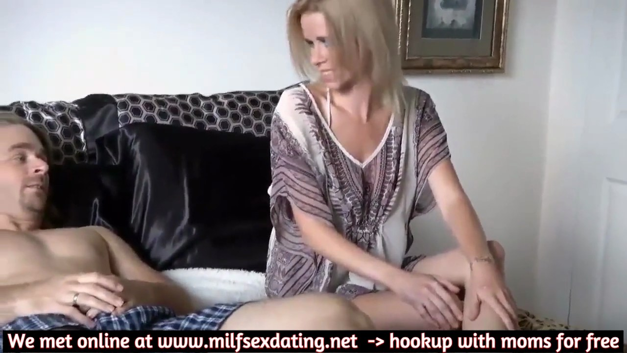 Hot Stepmom Seduces Son